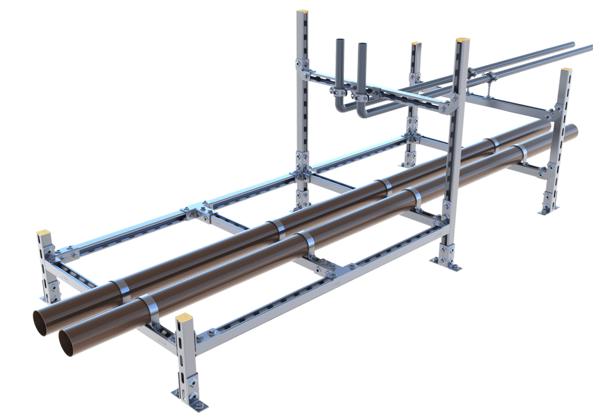 EV-Rahmenkonstruktion