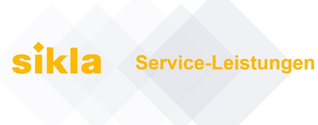 Service-Leistungen Banner
